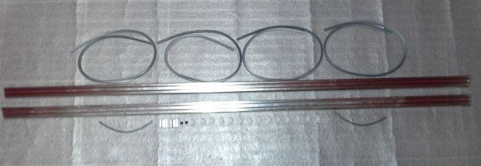 (02 models) Complete Sill Moulding Set BMW