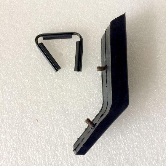 (E9 2.5CS-3.0CSL) Rear Bumper Overrider Rubber  R