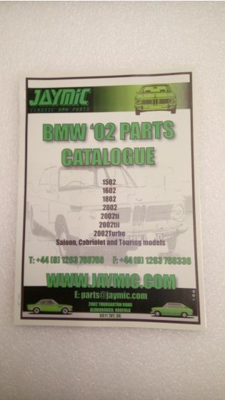 Jaymic 02 Parts Catalogue