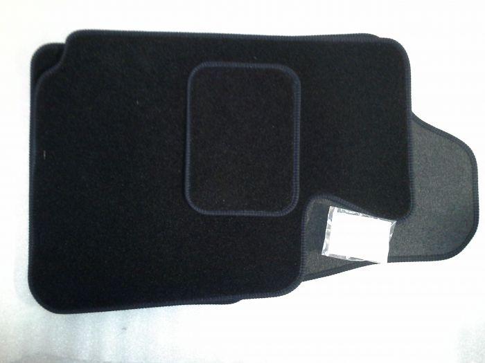 (E9 2.5CS-3.0CSL) Carpet Overmat Set Black  LHD