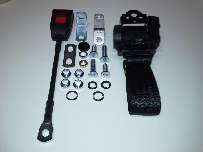 (E9 2.5CS-3.0CSL) Seat Belt Front Inertia 4 Point Vertical Reel (P)