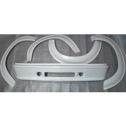 (02 models) Turbo Body Styling Kit 2 Duct No Fixings