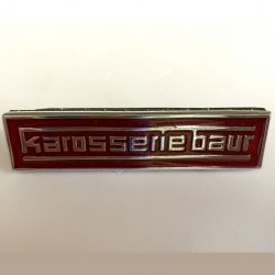 (02 models) Cabriolet Karosserie Baur Badge in Red