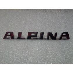 (02 models) Alpina Chrome Script Badge  (J)
