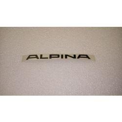 (02 models) ALPINA Sticker Black 132mm Long