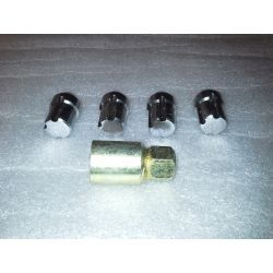 (02 models) Locking Wheel Nut Set (P)