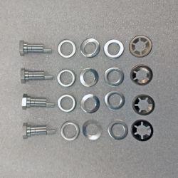(02 models) S/S Rear Brake Back Plate Adjuster Repair Kit - One Car