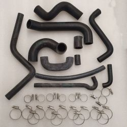 (02 Models) 2002 Turbo Water Hoses and Clips Set
