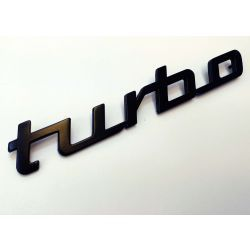 "(02 models) 2002 ""Turbo"" Black Badge Plastic 3D Printed (P)"