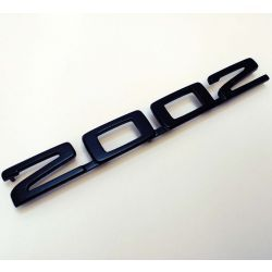 "(02 models) ""2002"" Turbo Black Badge Plastic 3D Printed (P)"