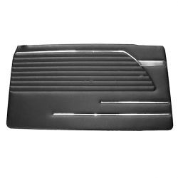 (02 models) Door Trim Pad Black 71 to 73 LH