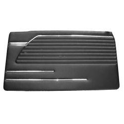 (02 models) Door Trim Pad Black 71 to 73 RH