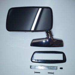 (E3 2500-3.3Li) Door Mirror Late Large Type LH