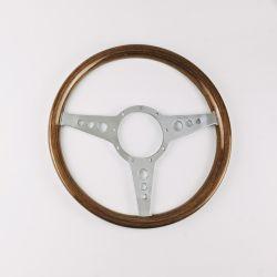 (02 models) Moto-Lita Walnut Rim 14 Steering Wheel