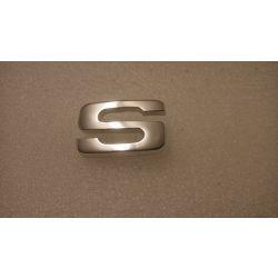 (E9 2.5CS-3.0CSL) S Badge for 2800CS & 3.0CS >Ch.No  O/S