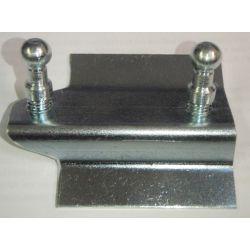 (E9 2.5CS-3.0CSL) Throttle Pedal Mount Repair Plate LHD 2.5CS - 3.0CSL from 09/1973