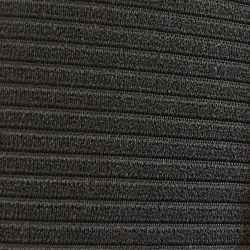 (E9 2.5CS-3.0CSL) Seat Centre Material Ribbed Scheel CSL Black (per metre)
