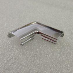 (E21) Rear Screen Rubber Chrome Insert Corner Joint 315-323i