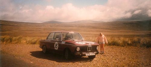 Dads 2002tii race car in wicklow